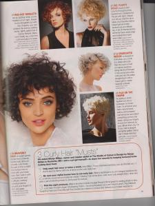 Curly Hair Featured article - Margie Billian