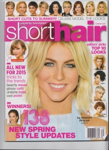 ShortHair Summer 2015 Front page